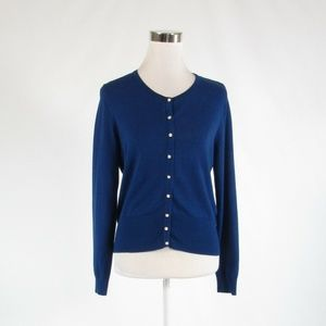 Dark blue WHITE HOUSE BLACK MARKET sweater M